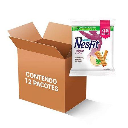 Biscoito Nesfit Sem Glúten Salsa E Cebola Nestle Contendo 12 Pacotes