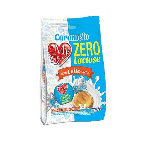 Bala Caramelo De Leite Zero Lactose My Toffee Riclan 104g