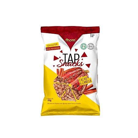Tap Snacks Zero Glúten, Zero Lactose Cacau E Canela Fhom 25g