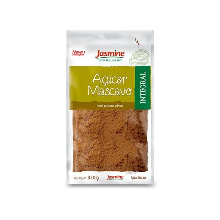 Açúcar Mascavo Integral Jasmine 1kg