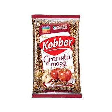 Granola Light Maçã E Canela (56% Menos Gorduras) Kobber 1kg