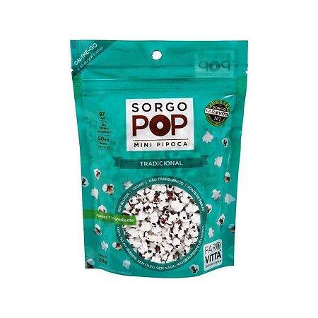 Mini Pipoca Sorgo Pop Tradicional Farovitta 30g