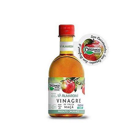 Vinagre De Maçã Orgânico 4% Acidez Almaromi 400ml
