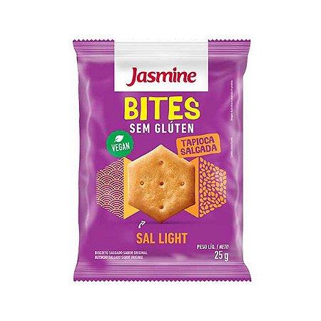 Tapioca Salgada Bites Sem Gluten Sal Light Jasmine 25g
