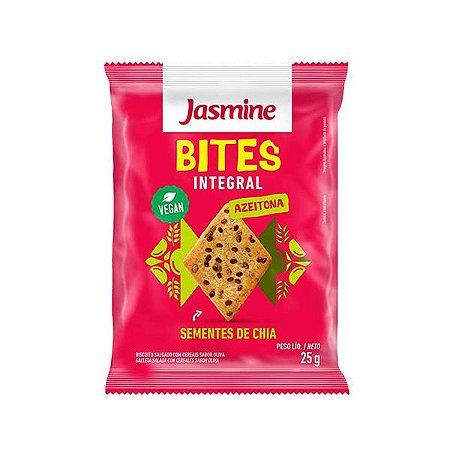 Biscoito Bites Integral Azeitona + Chia Integral Jasmine 25g
