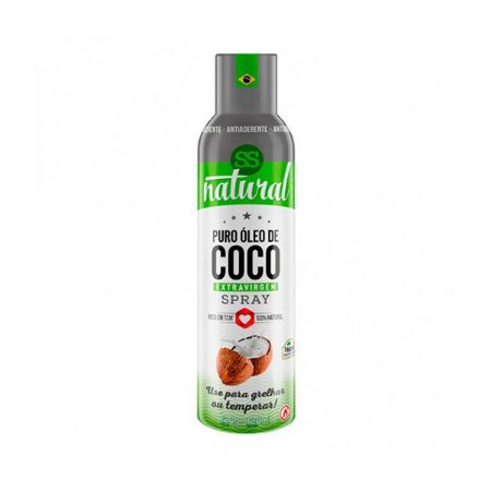Óleo De Coco Extravirgem Puro Spray Ss Natural 128ml