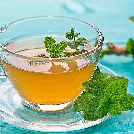 Chá Diário Qualy Tea Chá Misto (chá-verde, carqueja, mate verde, hortelã, gengibre, guaraná, salvia e alecrim) contendo 60 sachês