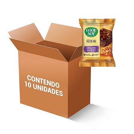 Pão De Mel Sem Glúten E Sem Lactose Good Soy 40g CONTENDO 10 UNIDADES