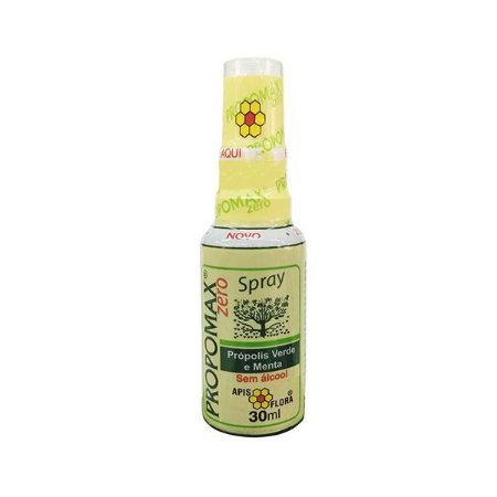 Propólis Verde e Menta Sem Álcool Spray Propomax Apis Flora 30ml