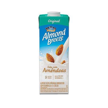 Bebida Vegetal de Amêndoas Original Almond Breeze 1l