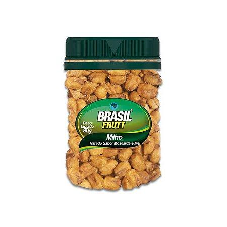 Milho Torrado sabor Mostarda e Mel Brasil Frutt 90g