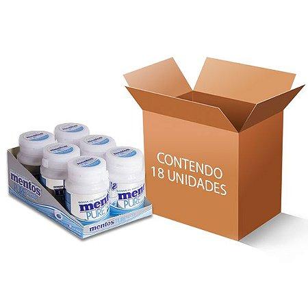 Mentos Garrafa Pure White contendo 18 unidades