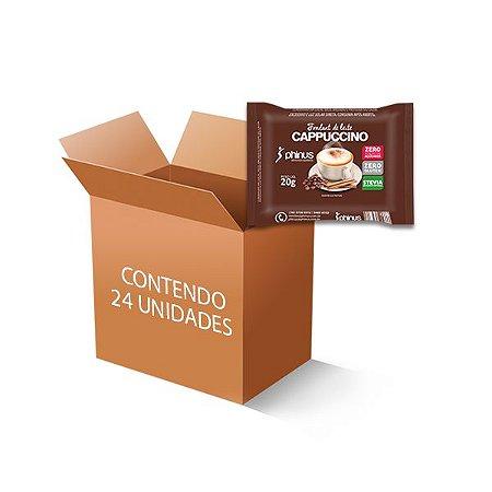 Fondant de Leite Cappuccino Phinus com 24 unidades