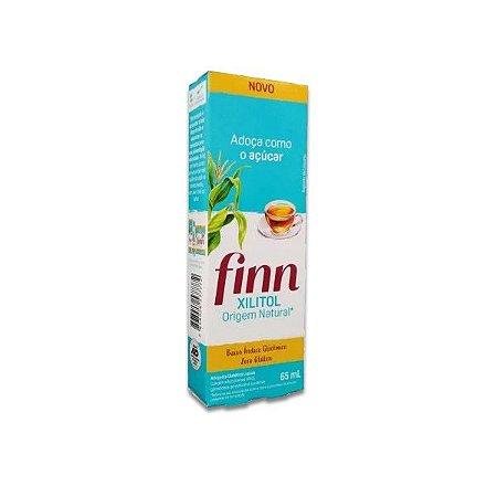 Adoçante Xilitol Líquido Finn 65ml
