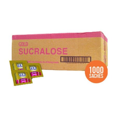 Adoçante Gold Sucralose C/1000 Sachês *** Super Oferta ***