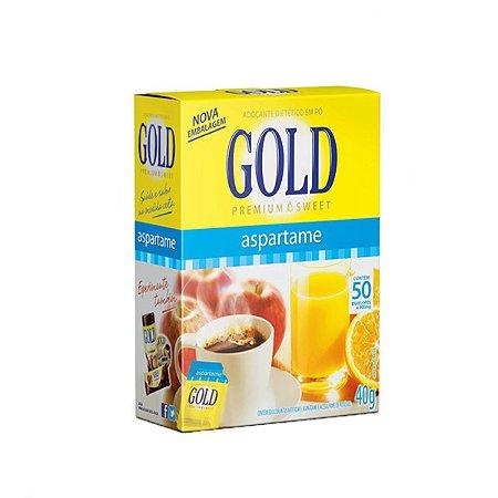 Adoçante Gold Aspartame C/50 Sachês