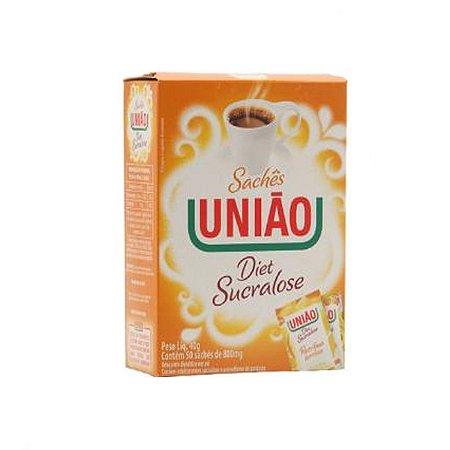 ADOÇANTE UNIÃO SUCRALOSE C/50 SACHETS