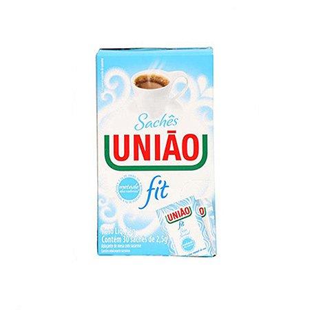 Açúcar União Fit com 30 Sachês