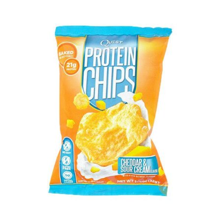Snack Protein Chips Cheddar & Sour Cream 21g
