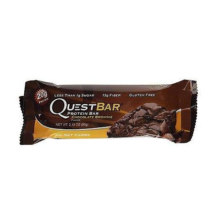 Barra Proteínas Quest Chocolate Brownie 60g