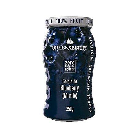 GELEIA WELLNESS QUEENSBERRY 250g BLUEBERRY