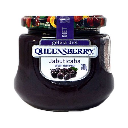 Geleia Queensberry Diet 280g Jabuticaba