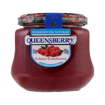 Geleia Queensberry Diet 280g Framboesa