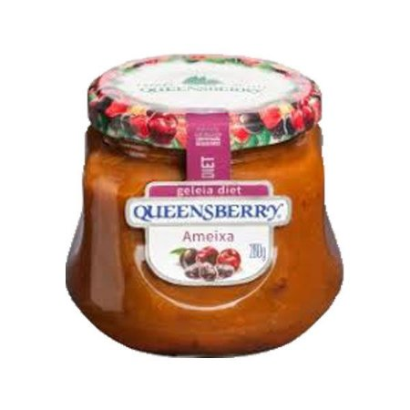 Geleia Queensberry Diet 280g Ameixa