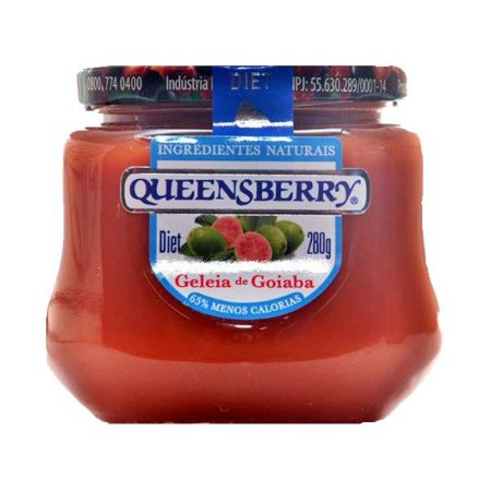 Geleia Queensberry Diet 280g Goiaba