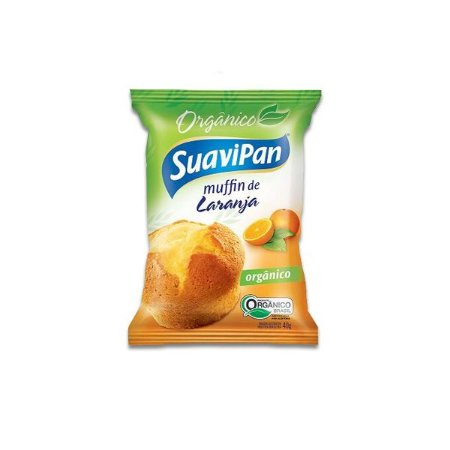 Muffin De Laranja Suavipan 40g Orgânico