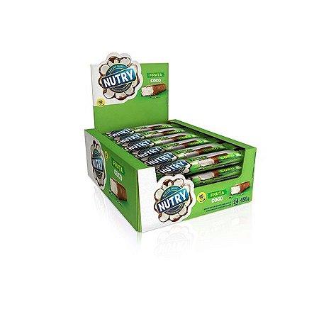 Barra De Frutas Nutry Coco Com 24 Unidades De 19g Cada