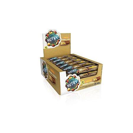 Barra De Frutas Nutry Amendoim Com Guaraná Com 24 Unidades De 20g Cada