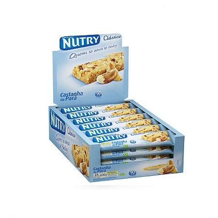 BARRA DE CEREAIS NUTRY CASTANHA C/24