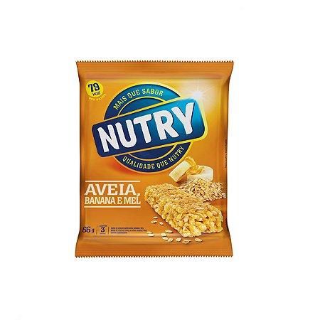 Barra De Cereais Nutry Banana, Aveia E Mel C/3