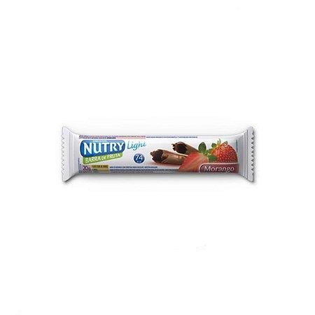 Barras De Frutas Morango Nutry 3x20g
