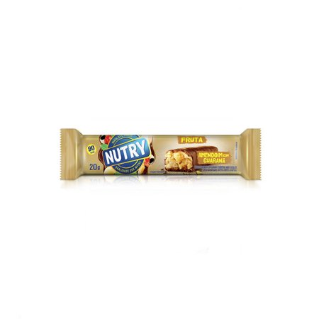 Barras De Frutas Amendoim Nutry 3x20g