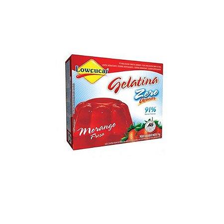 Gelatina Morango Zero Açucares Lowçúcar 10g