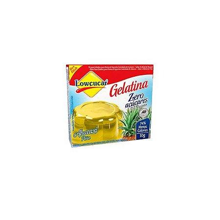 Gelatina Abacaxi Zero Açucares Lowçúcar 10g