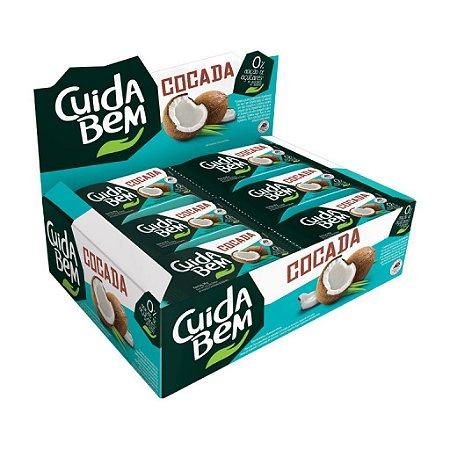 Cocada Cuida Bem Zero Açúcar Contendo 24 Unidades De 20g Cada