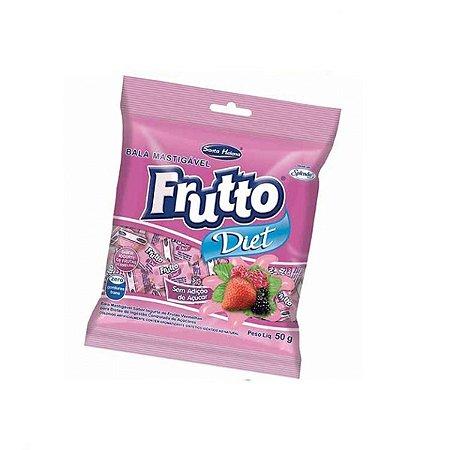 Bala Iogurte De Frutas Vermelhas Santa Helena 50g