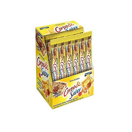 Barra De Cereais Montevergine  Banana E Mel C/24