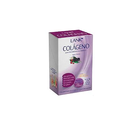 Colágeno Com Chá Lank 16x3,5g Amora