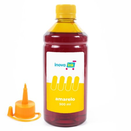 Tinta Yellow Inova Ink Compatível L375 500ml