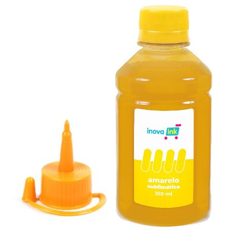 Tinta Yellow Sublimática Para Impressora L375 100ml