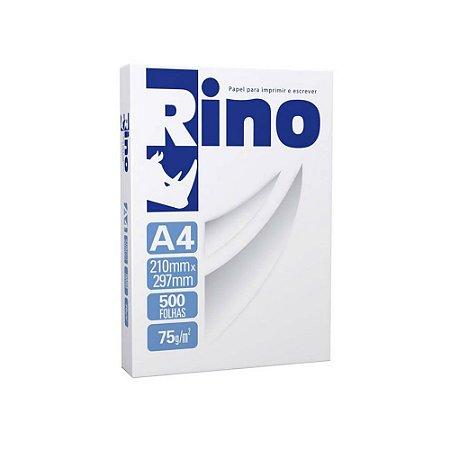 Papel Sulfite A4 Rino 75g Resma 500 folhas