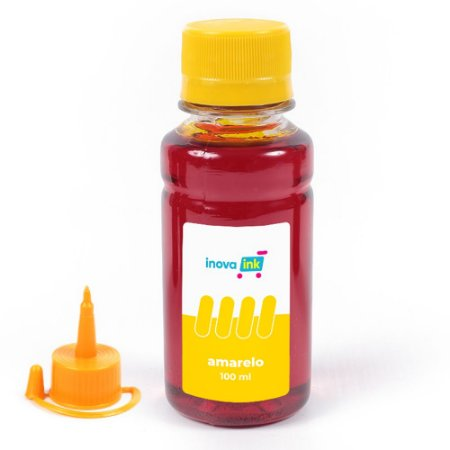 Tinta Yellow Inova Ink Compatível Impressora GT5822 100ml