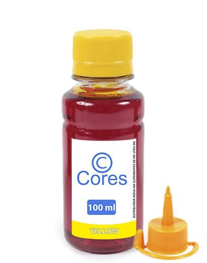 Tinta para HP Deskjet GT 5822 | GT52 Yellow 100ml Cores
