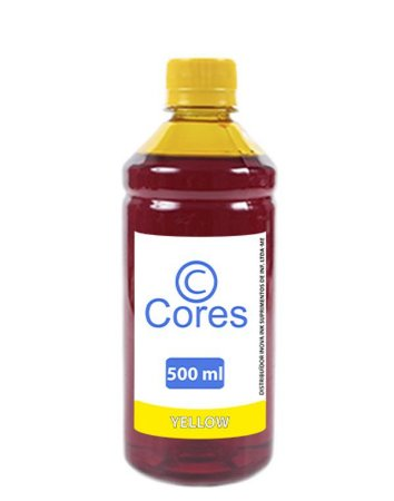 Tinta para Cartucho Epson XP231| XP431|XP241 Yellow 500ml  Cores