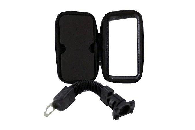 Suporte de Guidão com Capa Protetora para Celular Smatphone