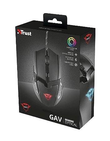 Mouse Gamer GXT 101 GAV Gaming Mouse - black Trust